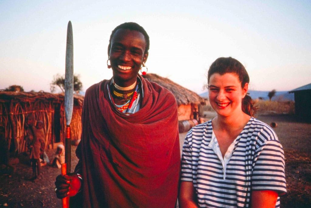 Daniela Sieff in Tanzania